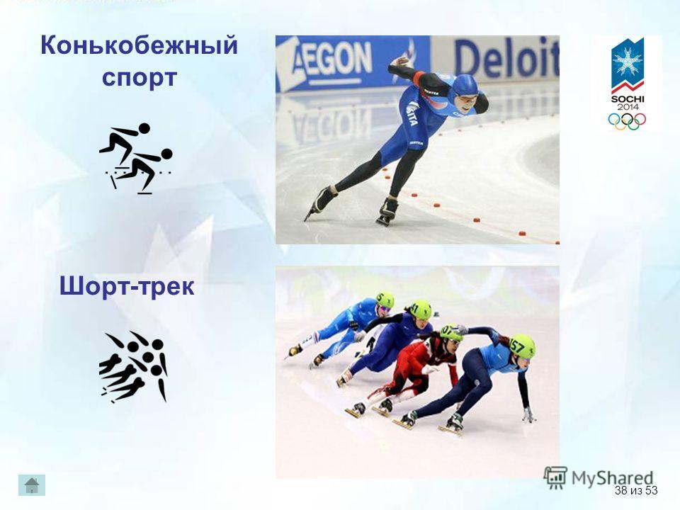 Конькобежный спорт Шорт-трек 38 из 53