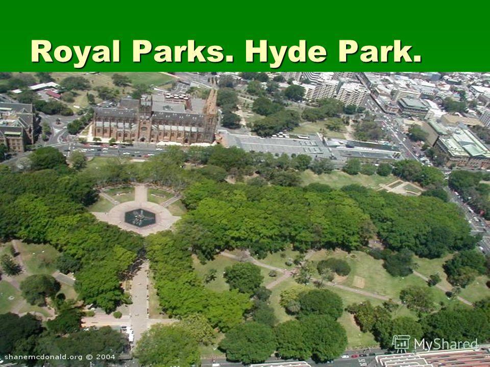 Royal Parks. Hyde Park.