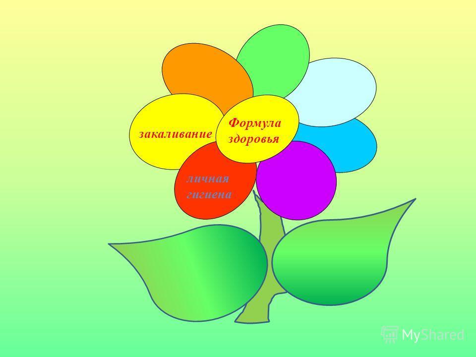 Формула здоровья личная гигиена закаливание