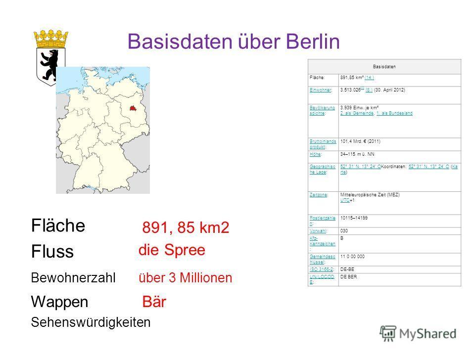 Basisdaten Fläche:891,85 km² (14.)(14.) EinwohnerEinwohner:3.513.026 [1] (8.) (30. April 2012) [1](8.) Bevölkerung sdichteBevölkerung sdichte: 3.939 Einw. je km² 2. als Gemeinde, 1. als Bundesland 2. als Gemeinde1. als Bundesland Bruttoinlands produk