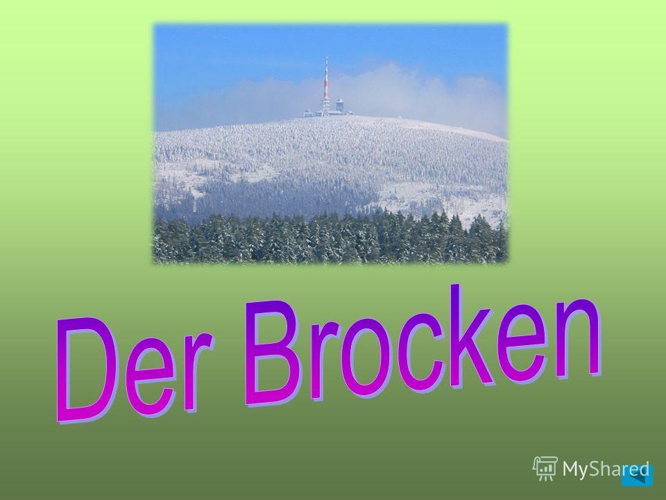Wie heisst der grösste Berg des Harzes? Правильный ответ Правильный ответ