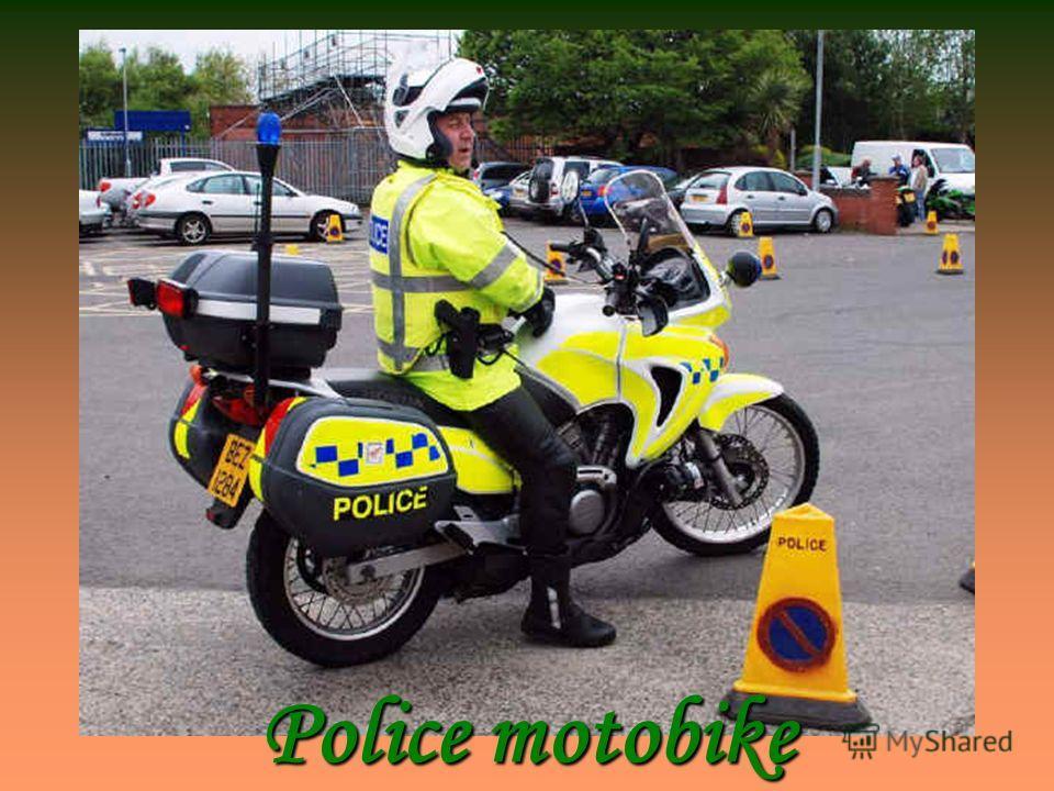 Police motobike