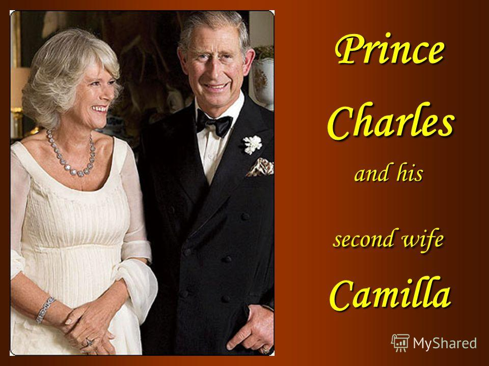 Prince Charles and his second wife Camilla