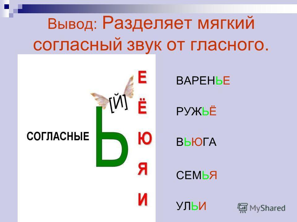 Организации деятельности учащихся по закреплению правописания слов с разделительным твердым знаком и