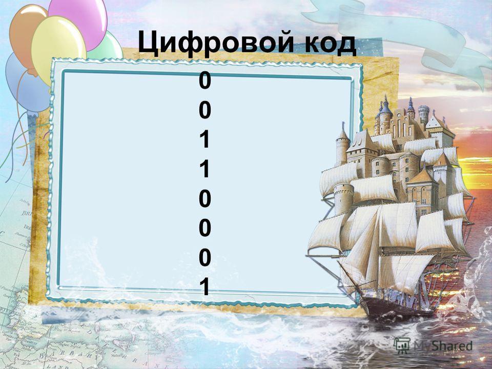 Цифровой код 0011000100110001