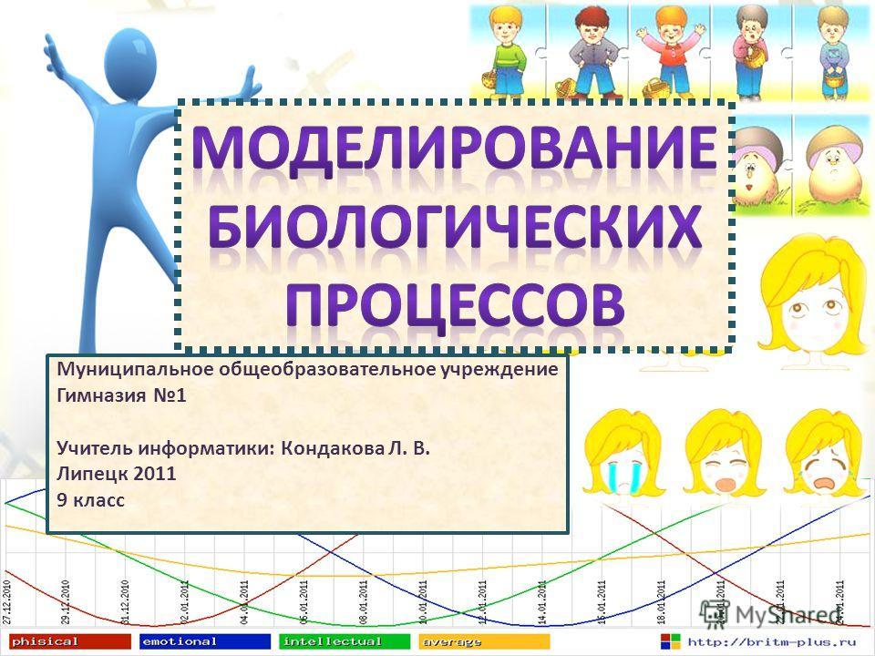 Муниципальное общеобразовательное учреждение Гимназия 1 Учитель информатики: Кондакова Л. В. Липецк 2011 9 класс