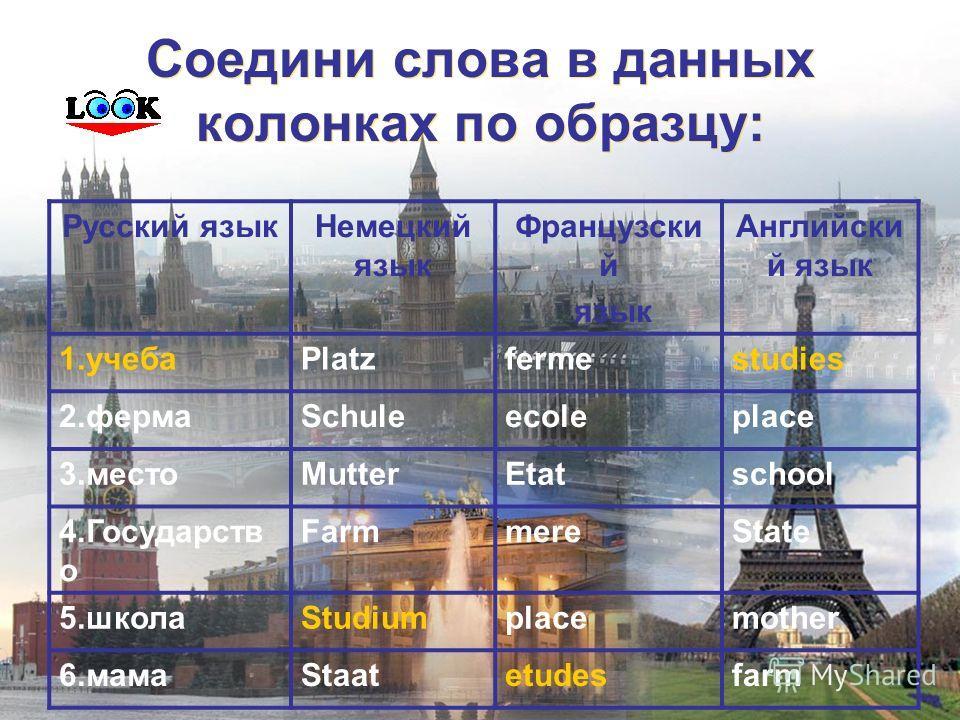 немецкий язык французский язык английский язык русский язык немецкий язык французский язык английский язык русский язык
