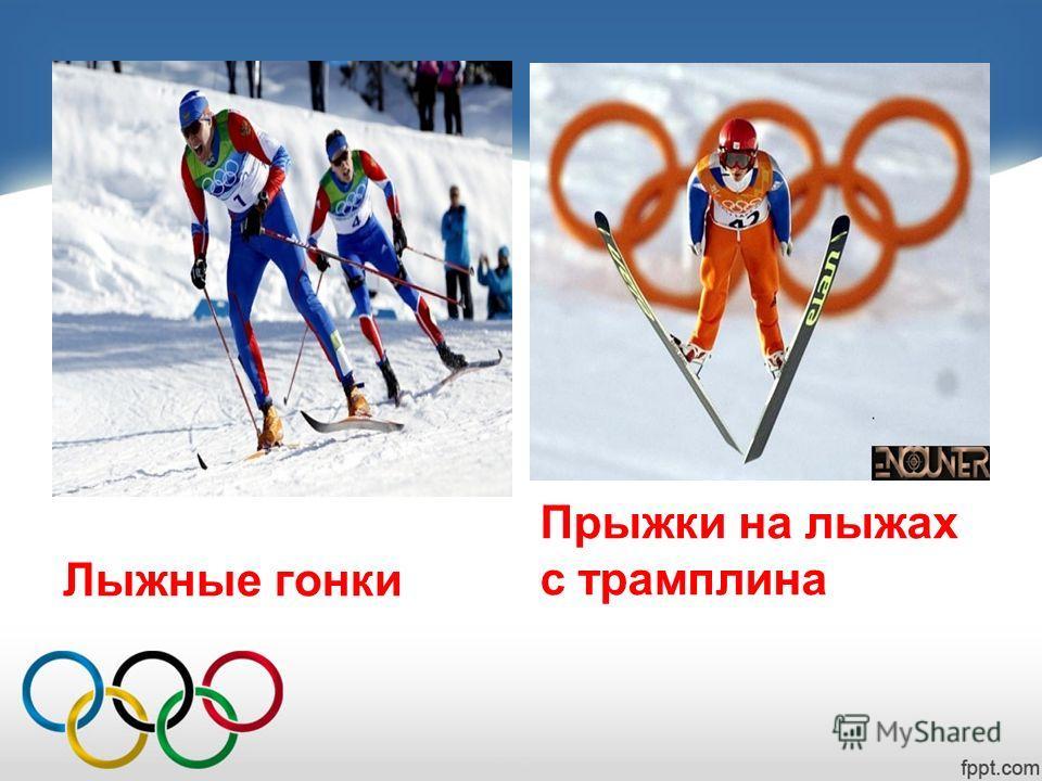 Лыжные гонки Прыжки на лыжах с трамплина
