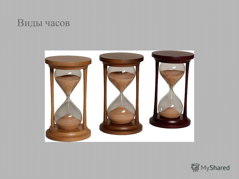Виды часов