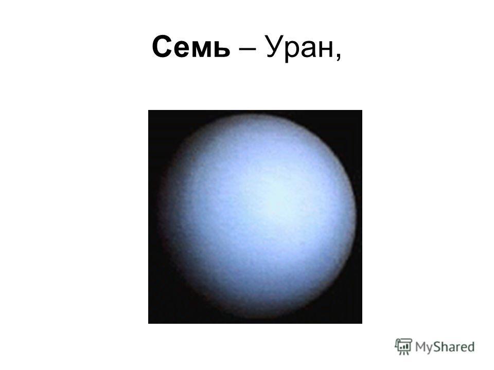 Шесть – Сатурн,