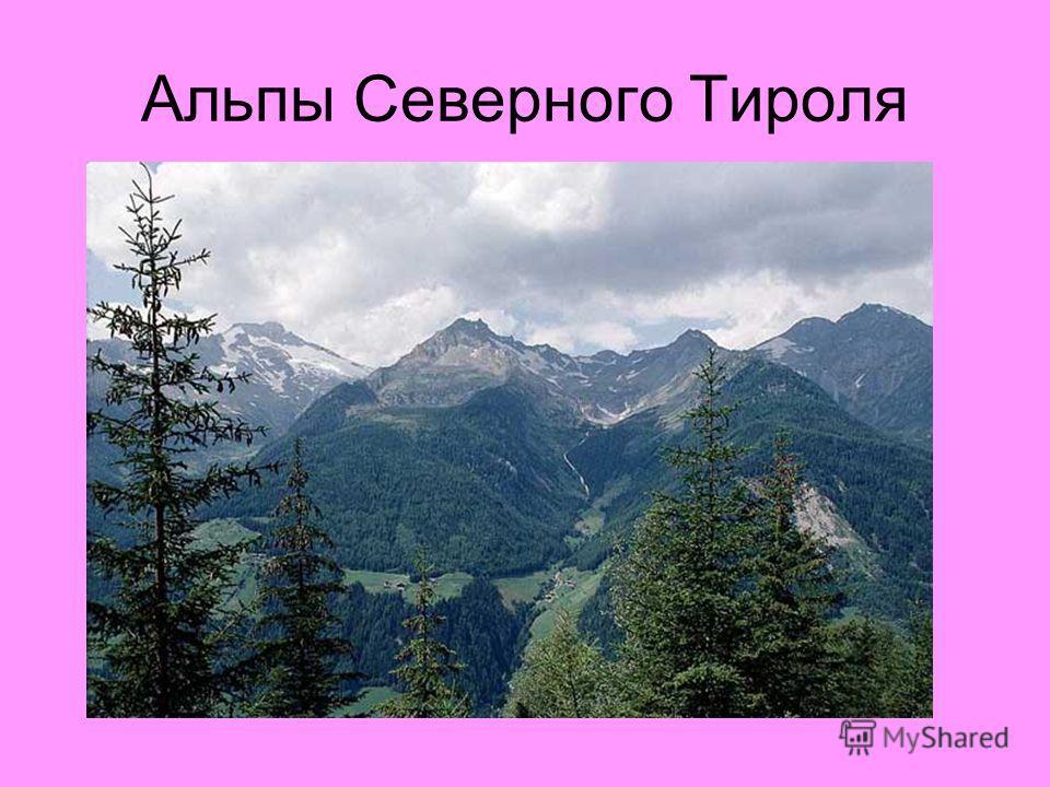 Альпы Северного Тироля