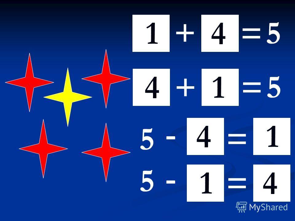 + = 5 += 5 - =5 - = 5 14 14 1 41 4