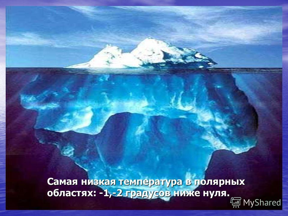 На поверхности Океана самая высокая температура близ экватора: 27-28 градусов тепла.