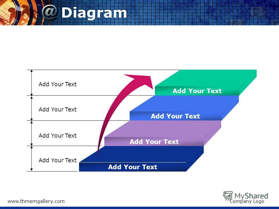 www.thmemgallery.comCompany Logo Diagram Add Your Text