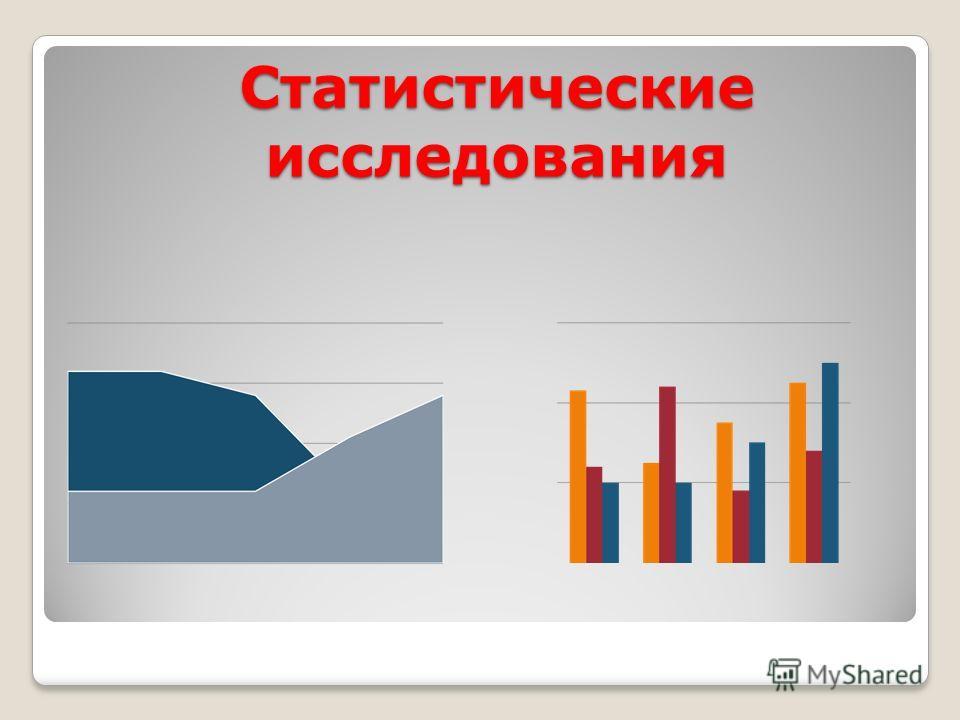 Статистические исследования