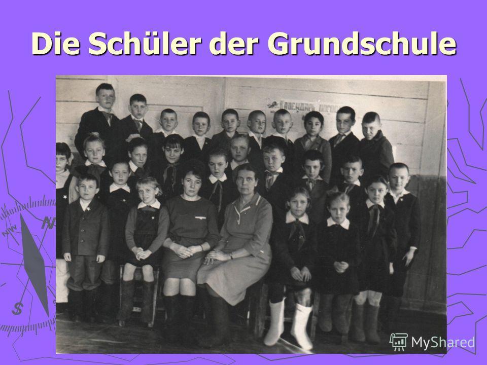 Die Schüler der Grundschule