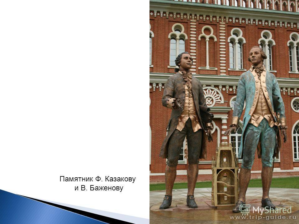 Памятник Ф. Казакову и В. Баженову