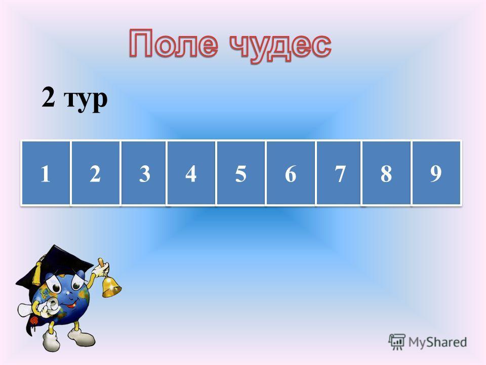 1 тур КОЛОБОК 3 3 5 5 2 2 4 4 6 6 1 1 7 7