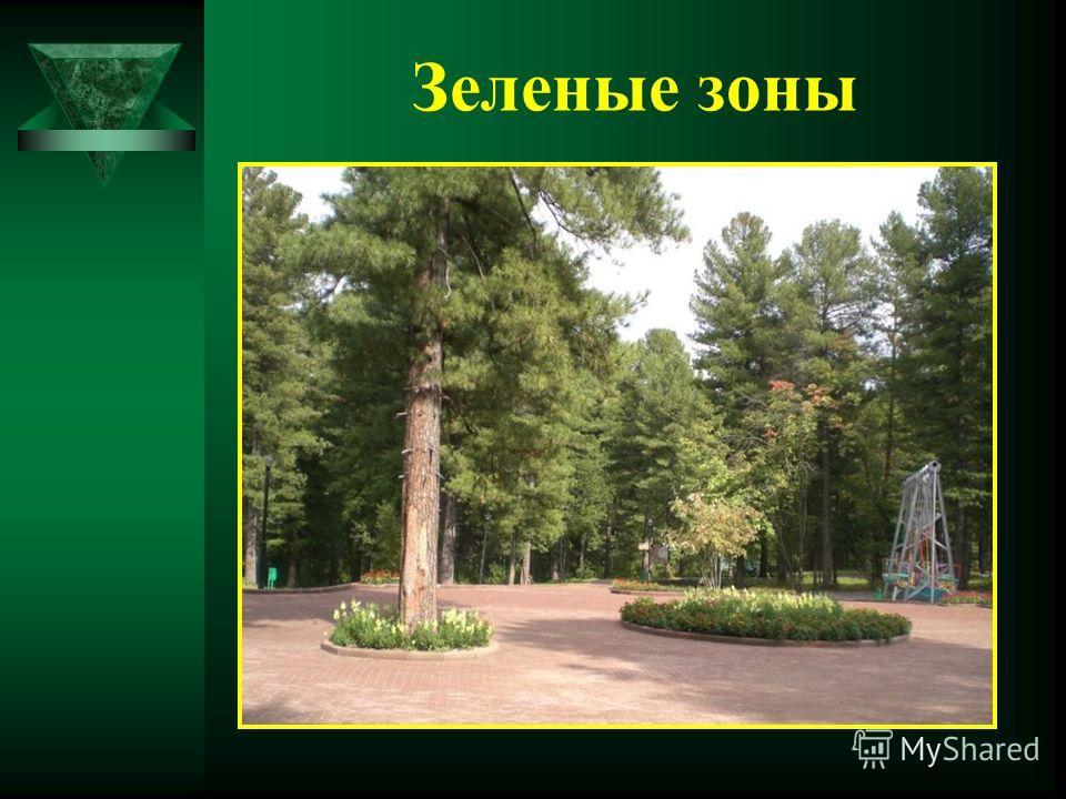 Зеленые зоны
