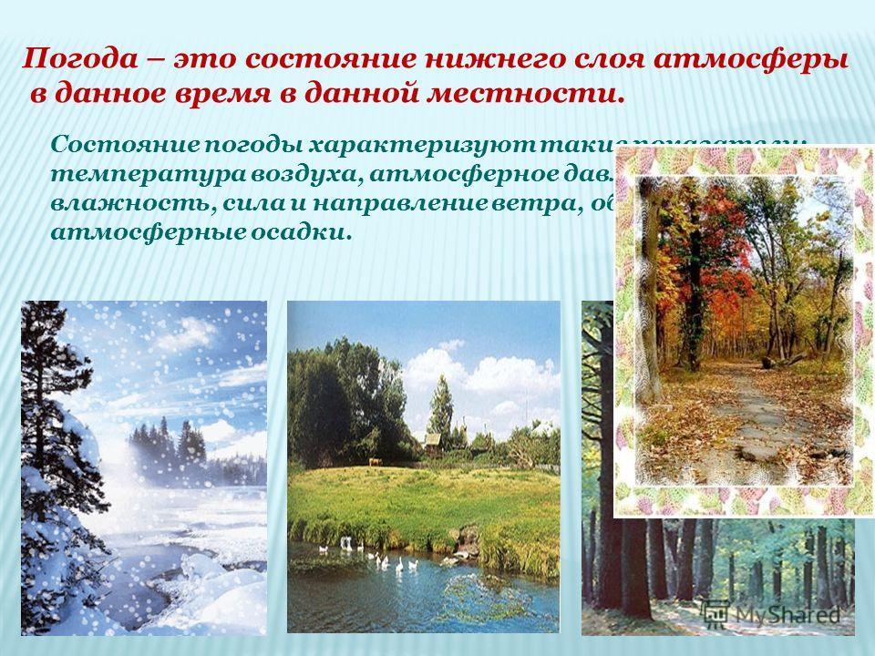 Погода и климат Тамбовской области