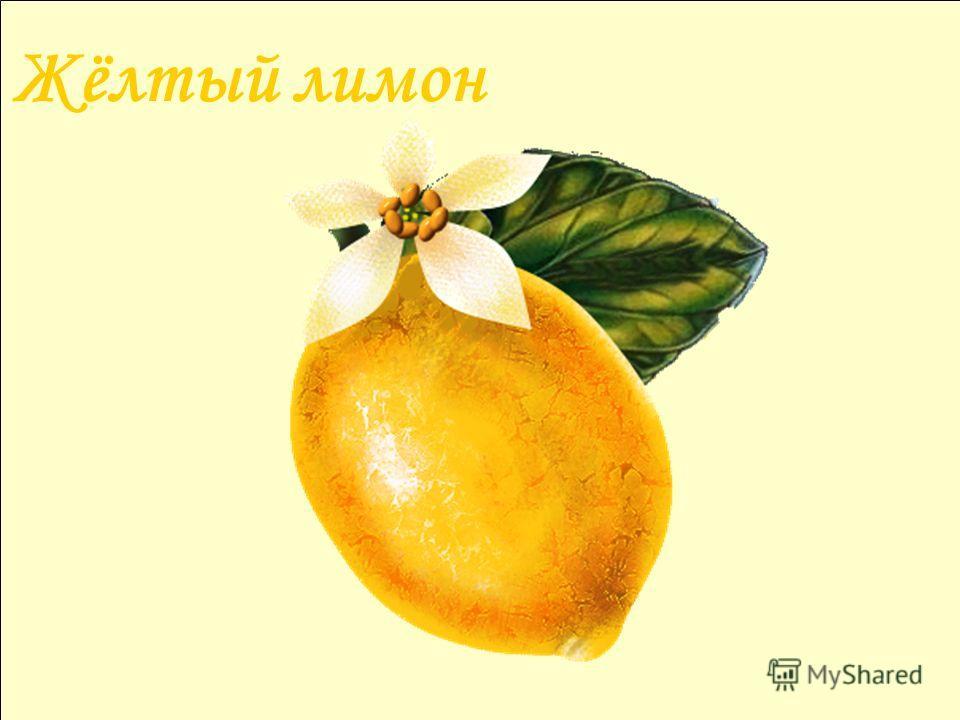 Жёлтый лимон