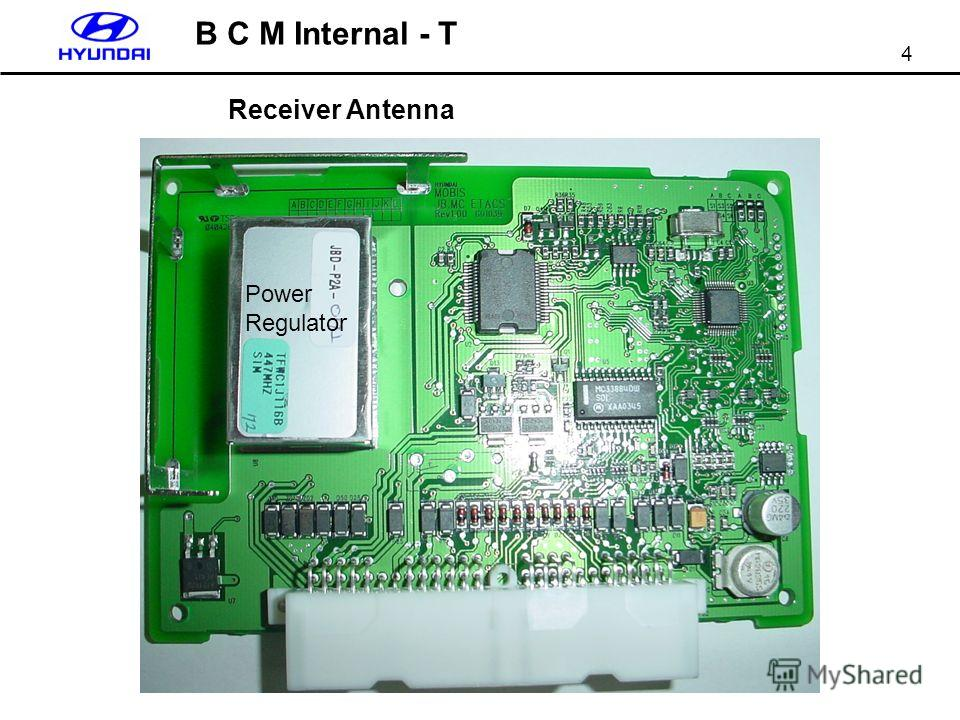 4 B C M Internal - T Receiver Antenna Power Regulator