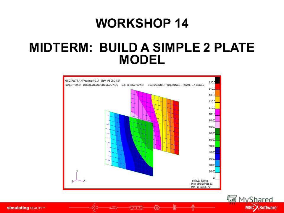 WORKSHOP 14 MIDTERM: BUILD A SIMPLE 2 PLATE MODEL