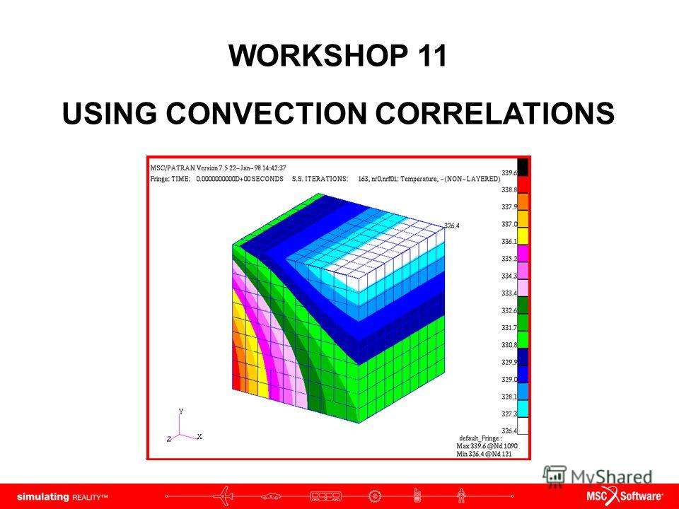 WORKSHOP 11 USING CONVECTION CORRELATIONS