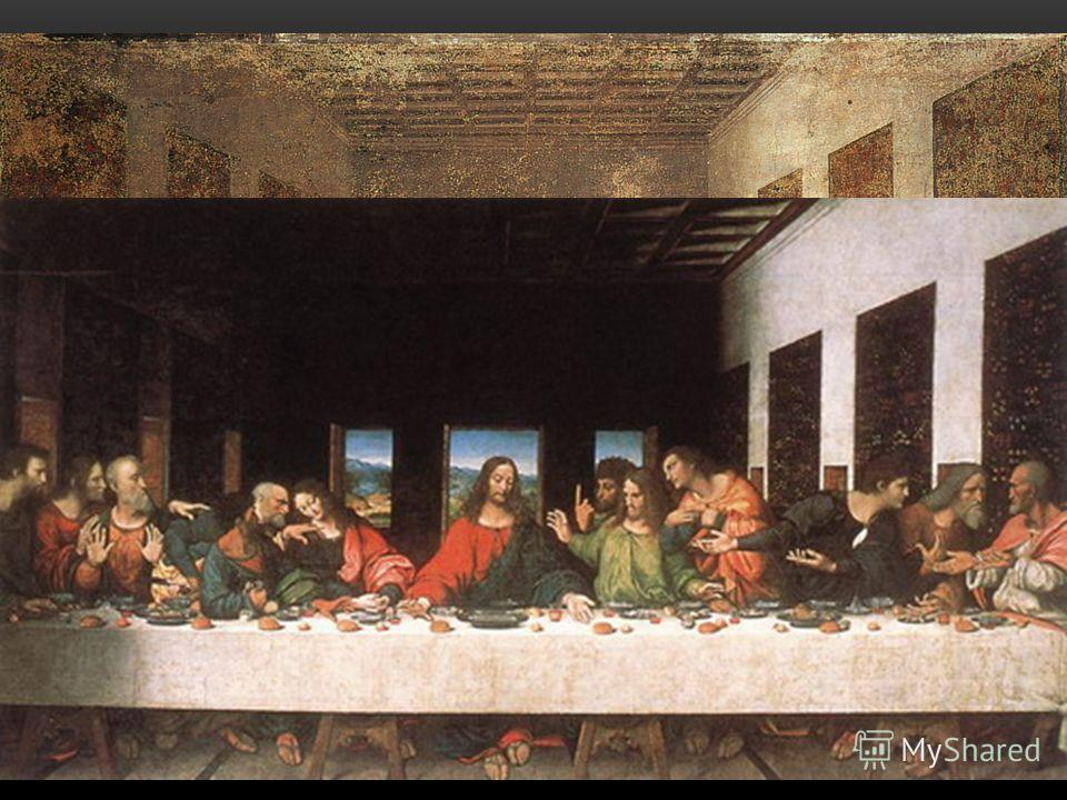 Картина до реставрации: Картина после реставрации