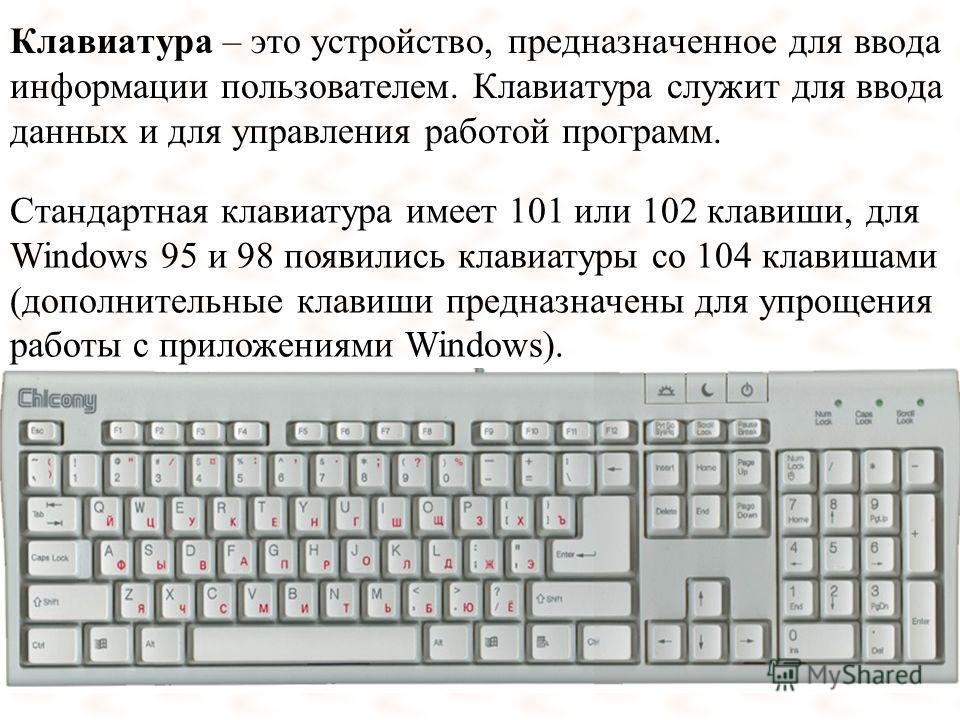 клавиатурой с клавиатура знакомство