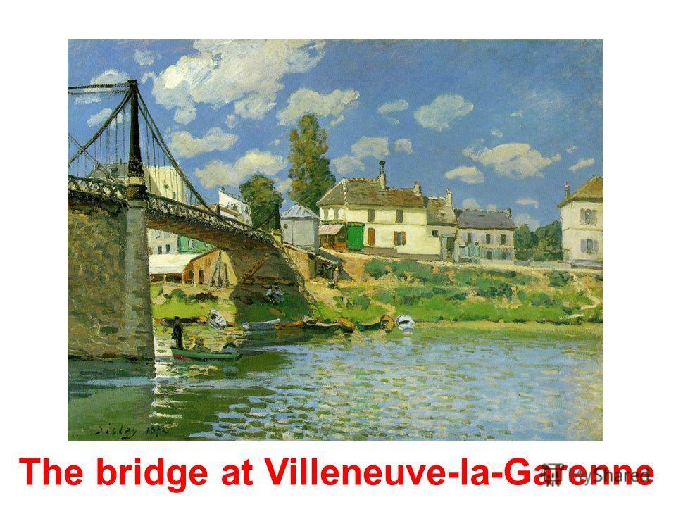Alfred Sisley (1839-1899) Impressionism