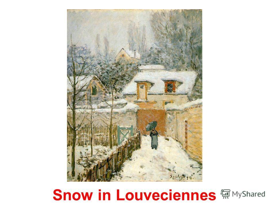 The garden path in Louveciennes