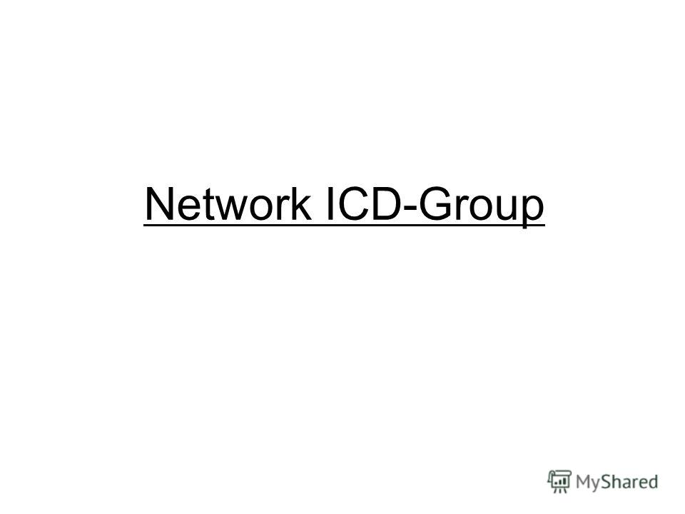 Network ICD-Group