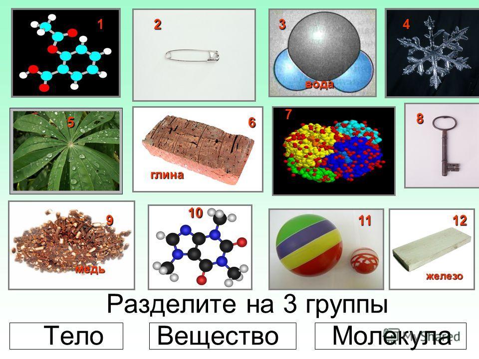 Вещества состоят из молекул, а молекулы из атомов. Молекула кофе Молекула аспирина