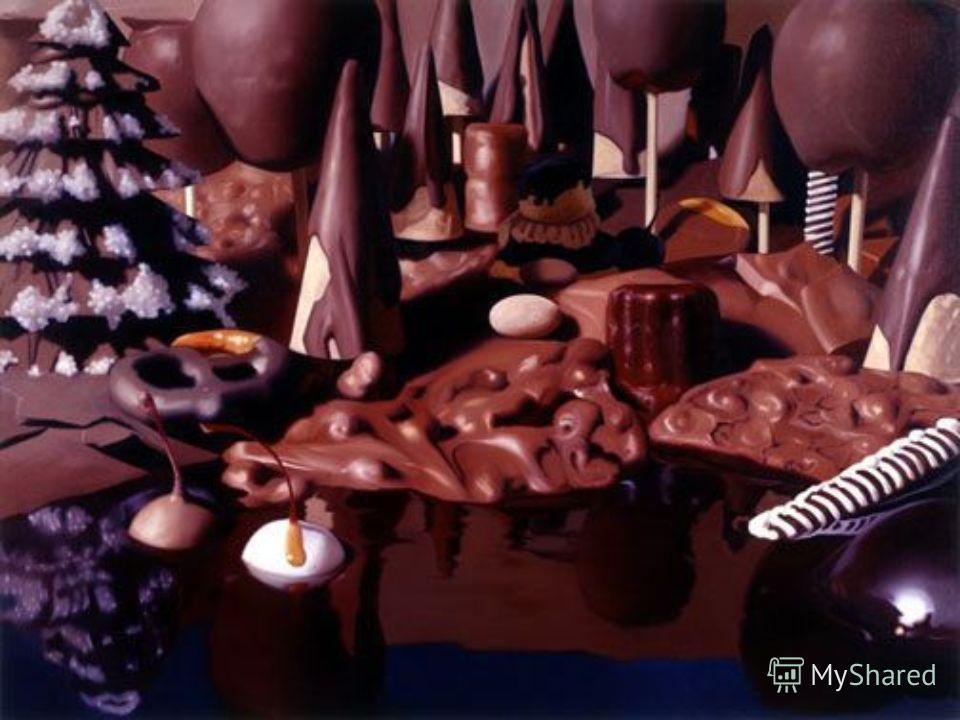 коричневый шоколад
