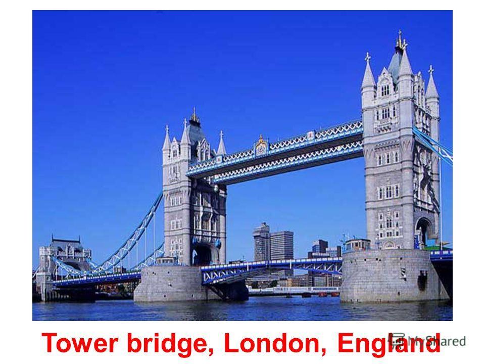 Iron bridge, England
