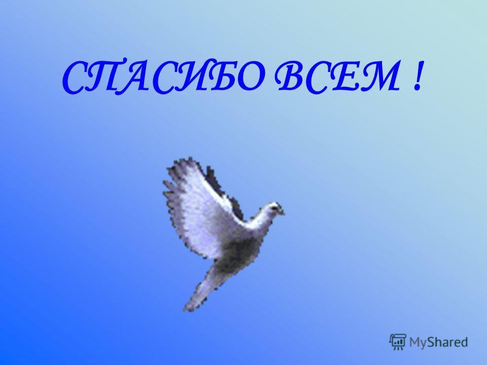 СПАСИБО ВСЕМ !