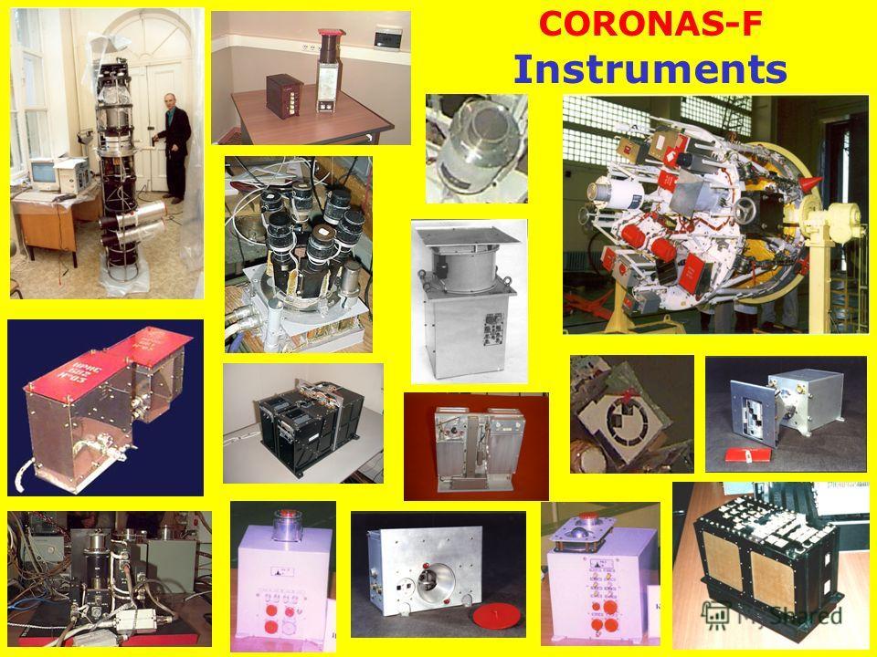 CORONAS-F Instruments