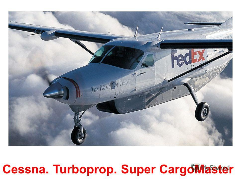Cessna. Turboprop. Grand Caravan