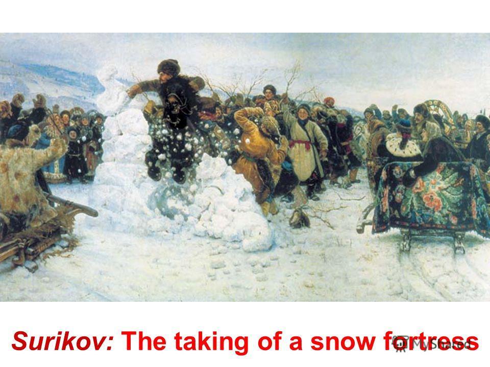 Surikov: The boyarynia Morozova