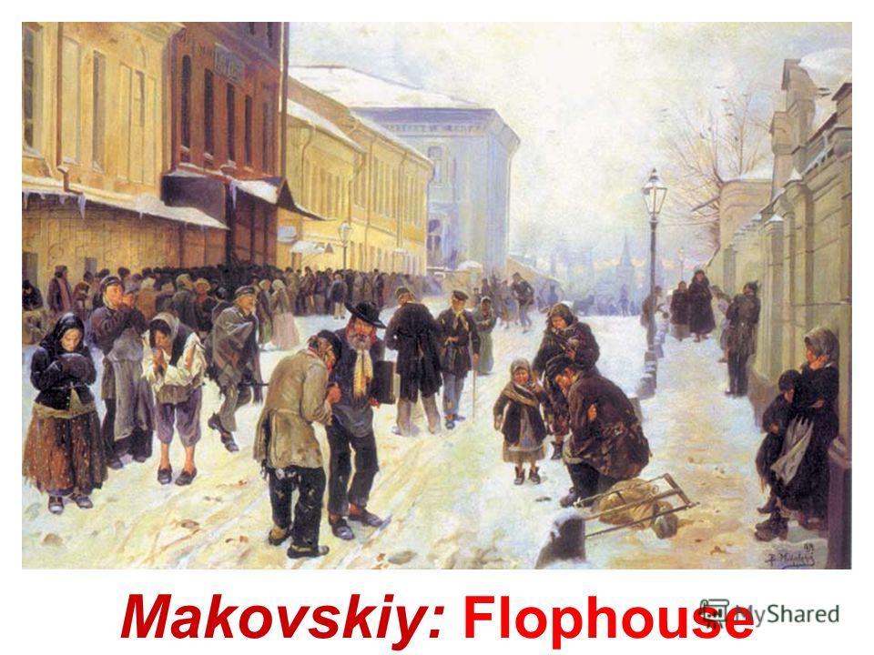 Makovskiy: On boulevard