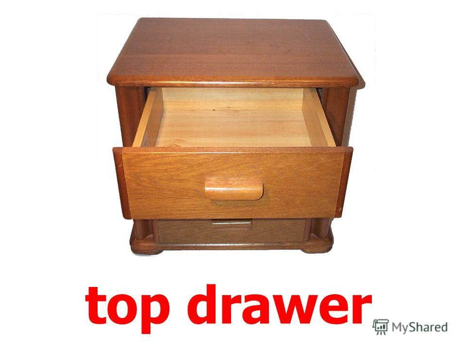bottom drawer