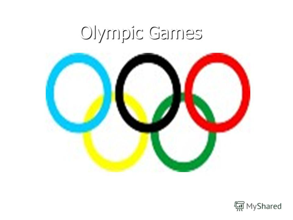 Olympic Games Olympic Games