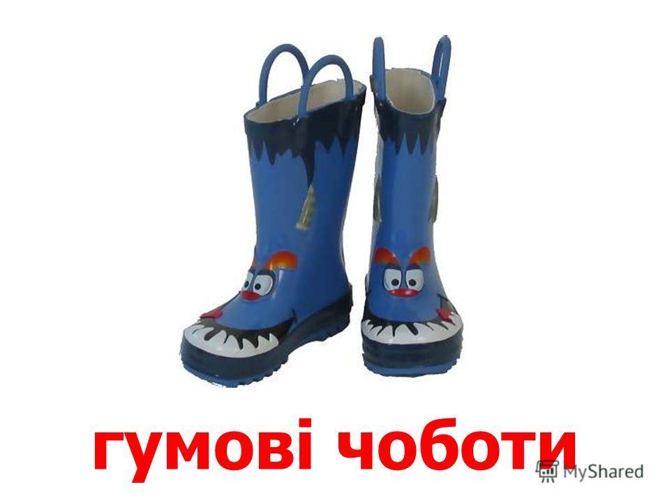 чоловічі чоботи