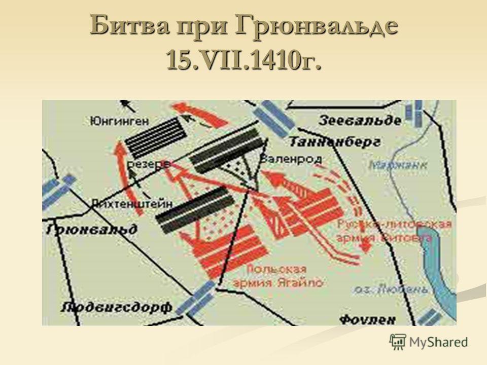 Битва при Грюнвальде 15.VII.1410 г.