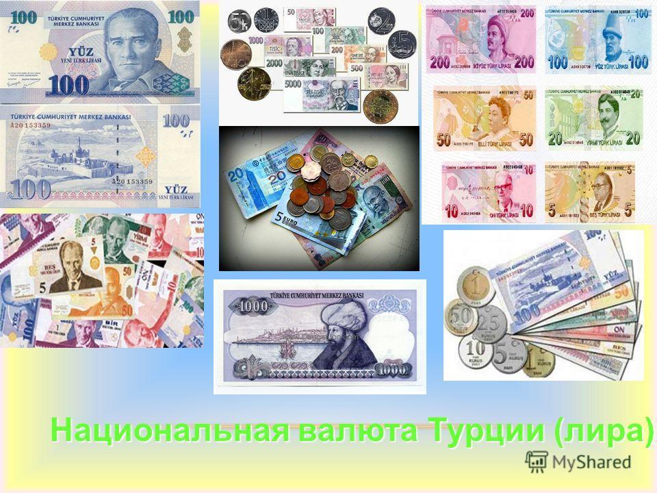 Национальная валюта Турции (лира)