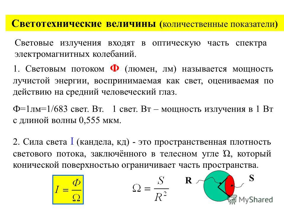 Освещение. Общие сведения. Часть электромагнитного спектра с длинами волн от 0,1 до 3,4 мкм (10 14 -10 15 Гц) называется оптической областью спектра. Спектр делится: –Ультрафиолетовое излучение – 0,1-0,38 мкм. –Видимое излучение – 0,38-0,77 мкм. –Инф