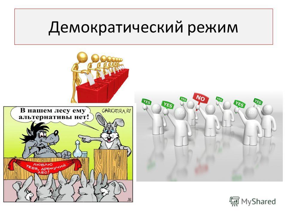 Демократический режим