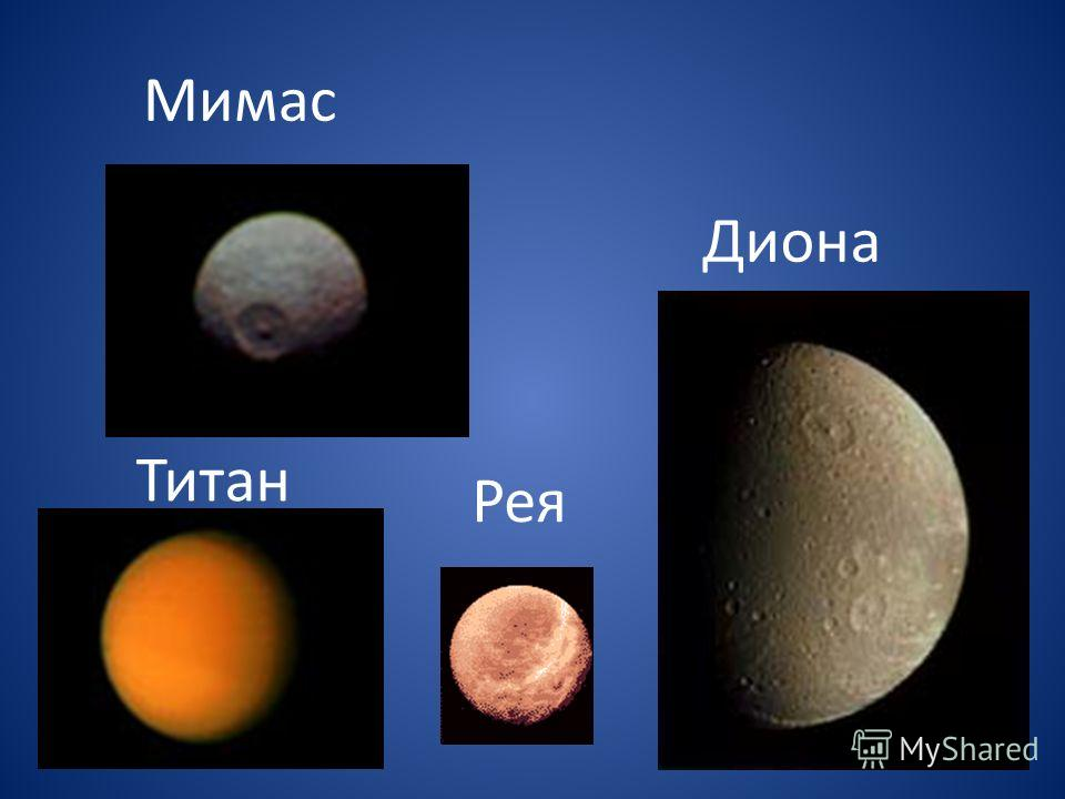 Мимас Диона Рея Титан