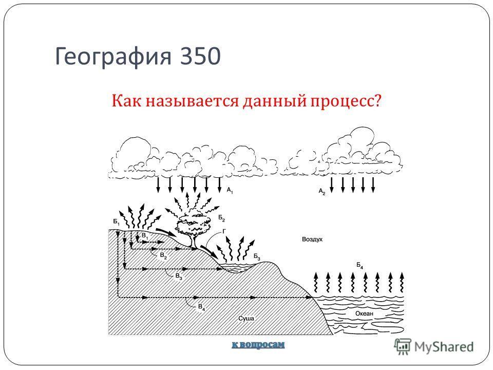 География 350 Как называется данный процесс ?